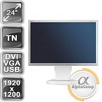 "Монитор 24"" NEC EA241WM (TN/16:10/DVI/VGA/USB) class A б/у"