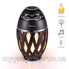 Беспроводная колонка Flame Atmosphere Speaker с пламенной подсветкой, фото 2