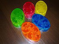 Мыло-скраб с люфой(овал)-90 грамм, фото 1
