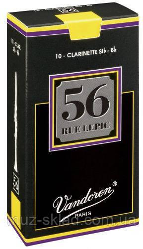 """Трость для кларнета Vandoren CR5025 """"56 Rue Lepic"""" №2,5"""