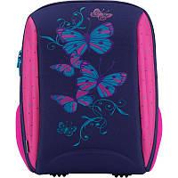 Рюкзак школьный каркасный Kite Butterfly K18-732M-2; рост 130-145 см
