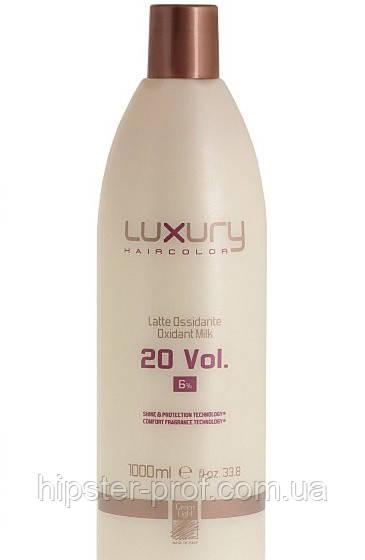 Окислювач Green Light Luxury Haircolor Oxidant Milk 6% 1000 ml