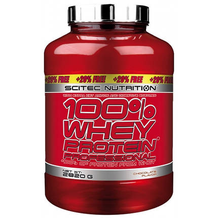 100% Whey Protein Professional Scitec Nutrition 2820 g, фото 2