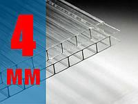Сотовый поликарбонат прозрачный ULTRAMARIN 4мм