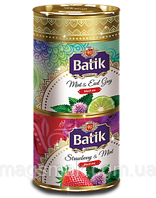 Набор чая Batik «КЛУБНИКА & МЯТА» & «МЯТА & БЕРГАМОТ»