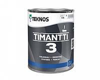 Краска для влажных помещений TEKNOS TIMANTTI 3 антисептическая 0,9 л