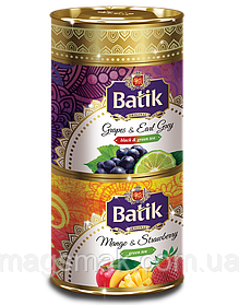 Набор чая Batik «МАНГО & КЛУБНИКА» & «ВИНОГРАД & БЕРГАМОТ»