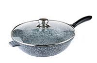 Сковорода глубокая EDENBERG 24 см с гранитным покрытием 2,4 л