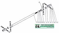 Вал карданный для электротележки ЭК-2