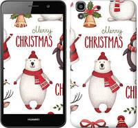 """Чехол на Huawei Y6 Merry Christmas """"4106c-333-657"""""""