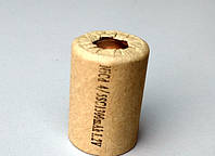 Банка Элемент аккумулятора шуруповерта Ni-Cd 4/5 SC 1300 mAh 1.2 V (22*33 мм)