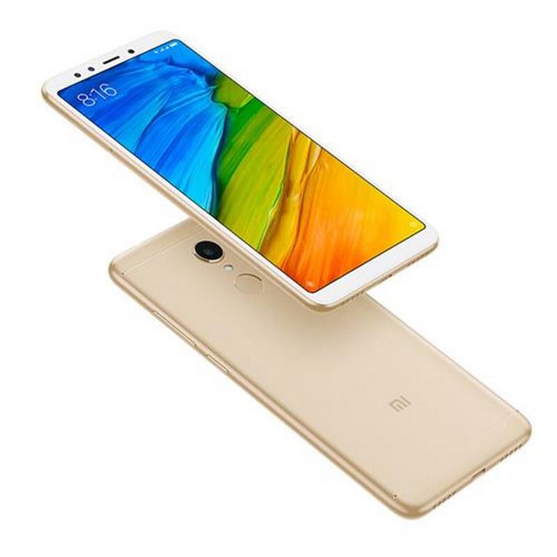 "Смартфон Xiaomi Redmi 5 3/32GB Gold, Snapdragon 450, 12/5Мп, 5.7"" IPS, 2SIM, 4G, 3300мА, 8 ядер"