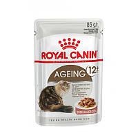 Royal Canin Ageing 12+ в соусе 85 г - паучи для кошек старше 12 лет