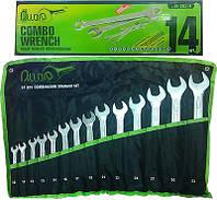 Набор комбинированных ключей 10-32 мм Alloid 14 предметов (НК-2061-14)