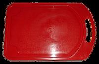 Доска разделочная красная, 19,5х29,2 см