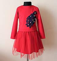 Нарядное детское платье костюм для девочек, фото 1