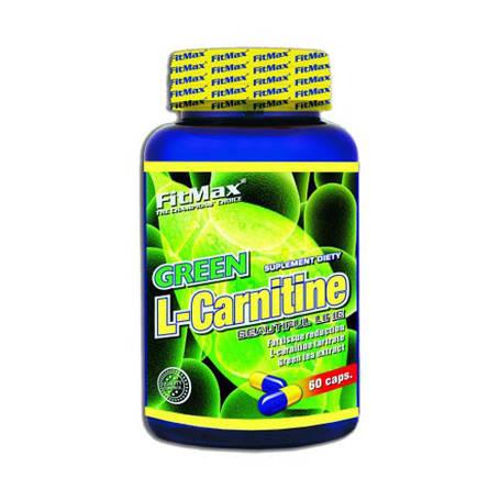 L-Carnitine зеленый чай FitMax 60 caps, фото 2