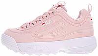 Женские кроссовки Fila Disruptor 2 (Фила Дисраптор 2) розовые