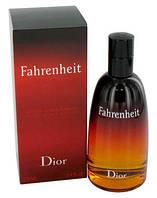 Christian Dior Fahrenheit ORIGINALsize 50ml наливная мужская туалетная вода тестер аромат