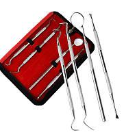 Набор инструментов для стоматолога 4 предмета