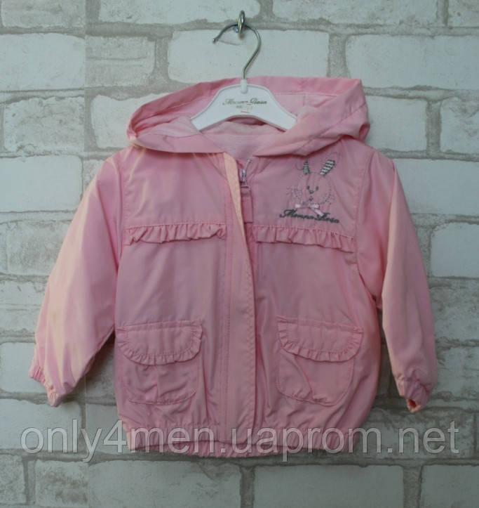 Куртка для дівчинки 68-74р.