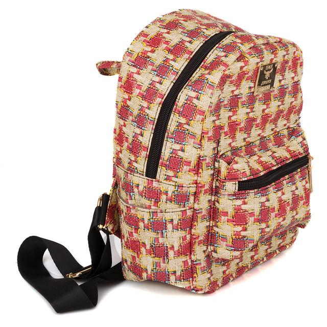женский цветной рюкзак