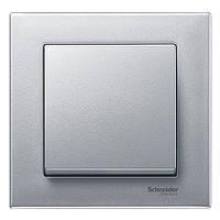 Рамка M-Plan цвет алюминий серии Merten Schneider Electric