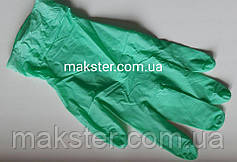 Перчатки нитриловые Unigloves мятный жемчуг 100 шт в уп, фото 2