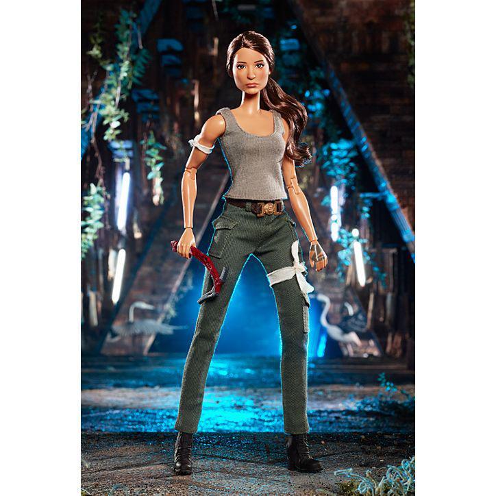 Колекційна лялька Барбі Лара Крофт / Tomb Raider Barbie