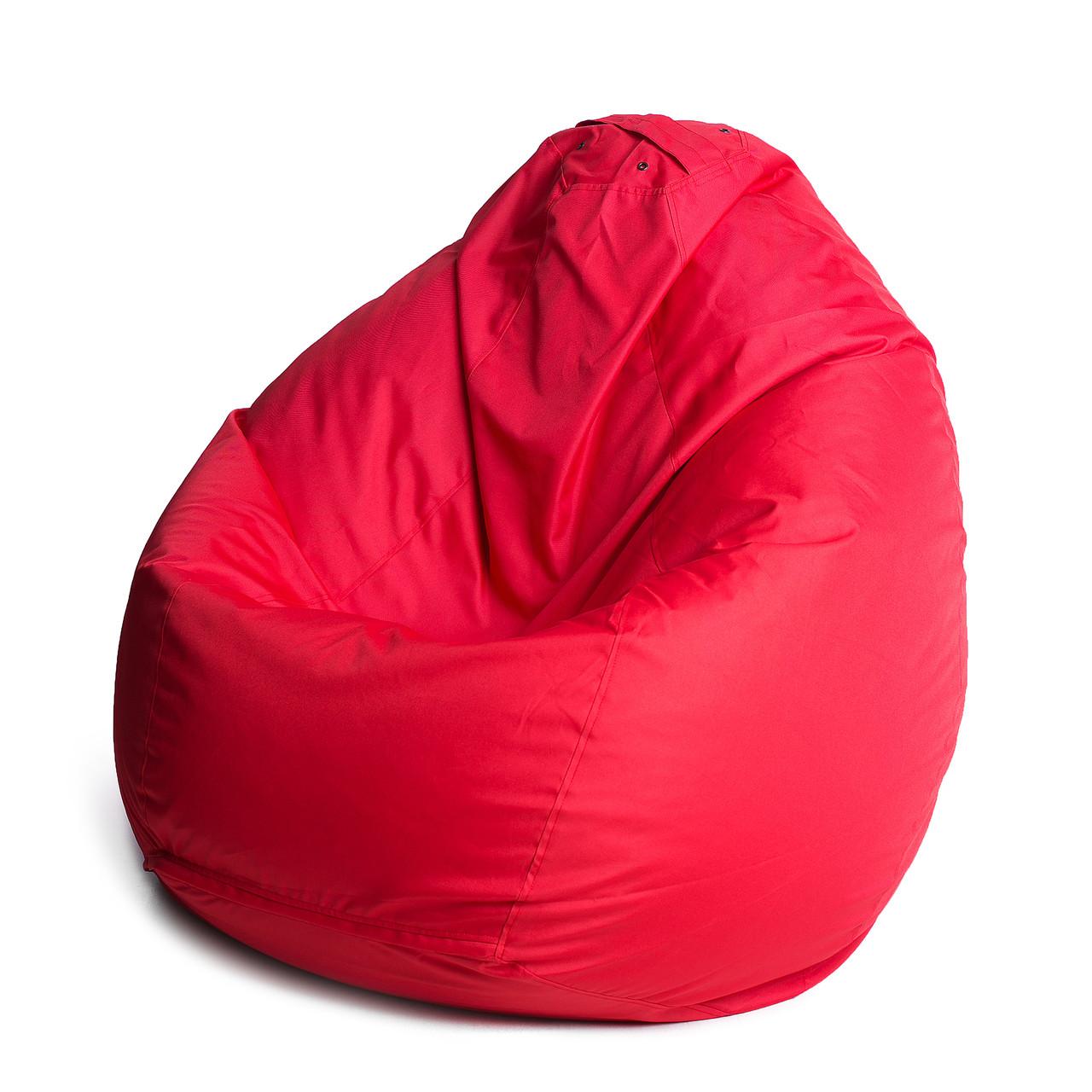 Кресло мешок груша   ткань Oxford L, Красный