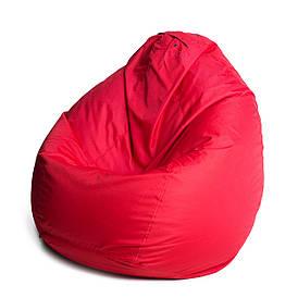 Кресло мешок груша с внутренним чехлом   Ткань Oxford L (Высота 90 см, ширина 60 см), Красный