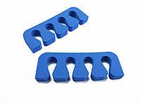 Растопырки для педикюра (разделители пальцев ног) Eva-Line 200 шт. Синий