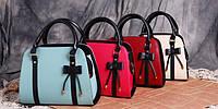 Элегантные трендовые сумки с бантиком для деловых женщин Смотреть современные яркие аксессуары Код: КГ3924