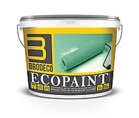 """Акриловая краска Brodeco """"Ecopaint"""" 10л. (для стен и потолков)"""