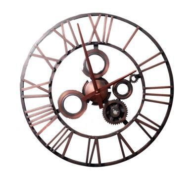 Металлические настенные часы