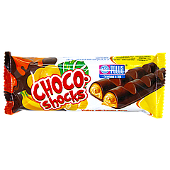 Вафли Favorito «CHOCO Shocks» Банан 40 г