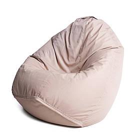 Кресло мешок груша с внутренним чехлом   Ткань Oxford XL (Высота 110 см, ширина 80 см), Бежевый