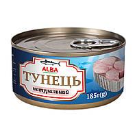 Тунець цілий у власному соку ALBA FOOD 185 г - АКЦІЯ !!! СУПЕР ЦІНА!!!