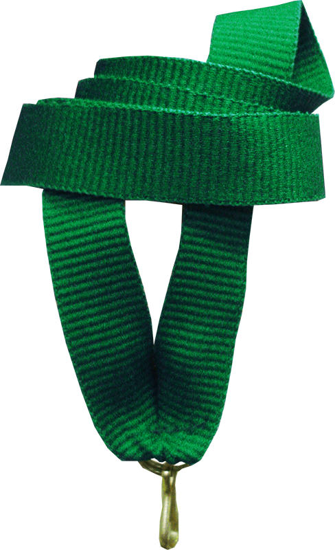 "Лента для медали ""зелёная"" 15 мм"