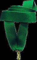 """Стрічка медалі """"зелена"""" 15 мм"""