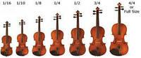 Какие бывают скрипки   Типы и размеры