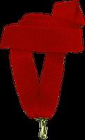 """Стрічка медалі """"червона"""" 15 мм"""