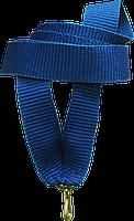 """Стрічка медалі """"синя"""" 15 мм"""