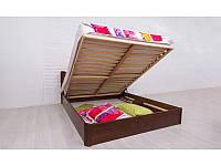 Кровать Айрис 200*200 бук с ПМ Олимп, фото 1