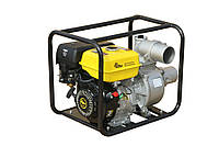 Мотопомпа бензиновая (80 куб. м/ч) Кентавр КБМ100 (диаметр патрубков, мм/дюйм 100/4,  расход топлива гр/кВт*ч 375, ручной стартер)