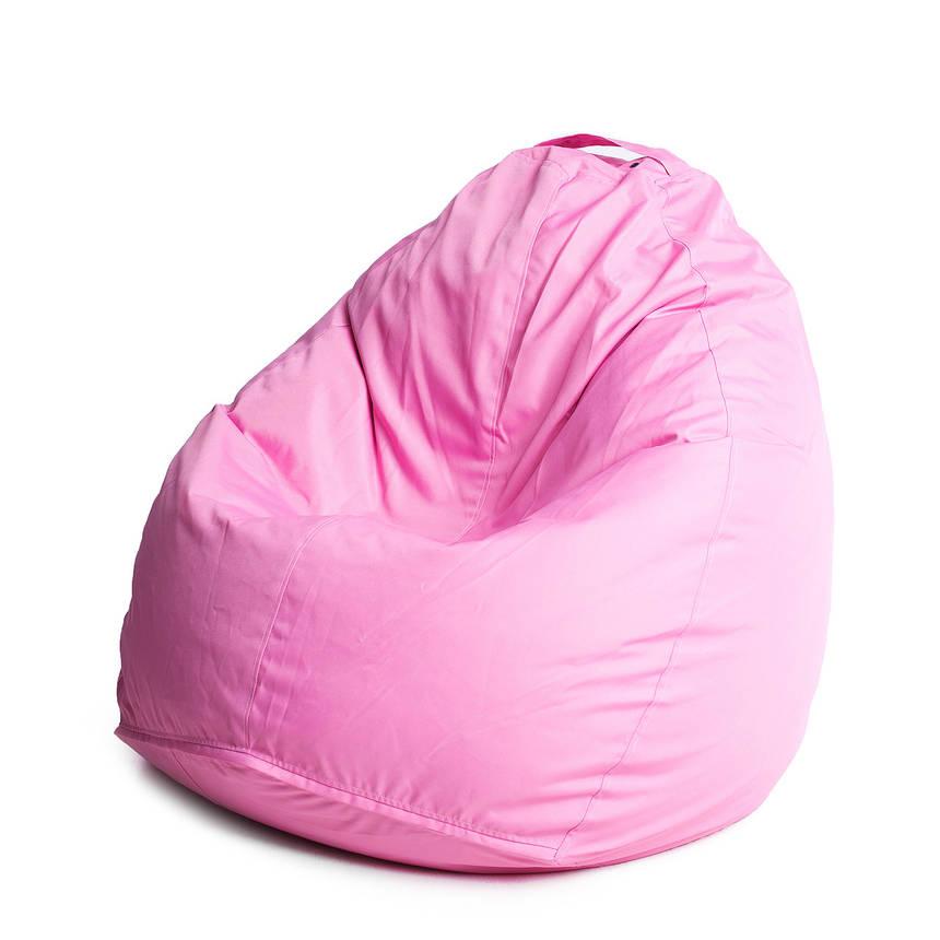 Кресло мешок груша с внутренним чехлом   Ткань Oxford XL (Высота 110 см, ширина 80 см), Розовый, фото 2