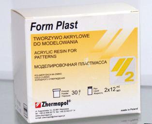 Форм пласт (Form plast) беззольное полиметакрилатний материал 30г + 2 * 12 мл