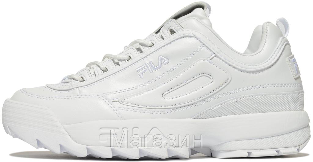 Купить Женские кроссовки Fila Disruptor 2 White (Фила Дисраптор 2 ... 9c2aa51093774