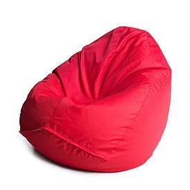 Кресло мешок груша с внутренним чехлом   Ткань Oxford XL (Высота 110 см, ширина 80 см), Красный