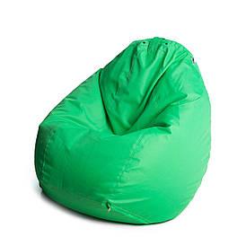 Кресло мешок груша с внутренним чехлом   Ткань Oxford XL (Высота 110 см, ширина 80 см), Ирландский зеленый